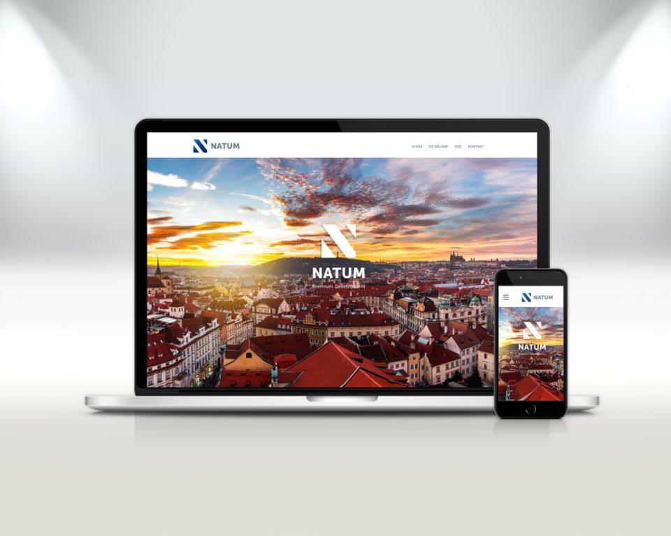 Webové stránky – Natum.cz