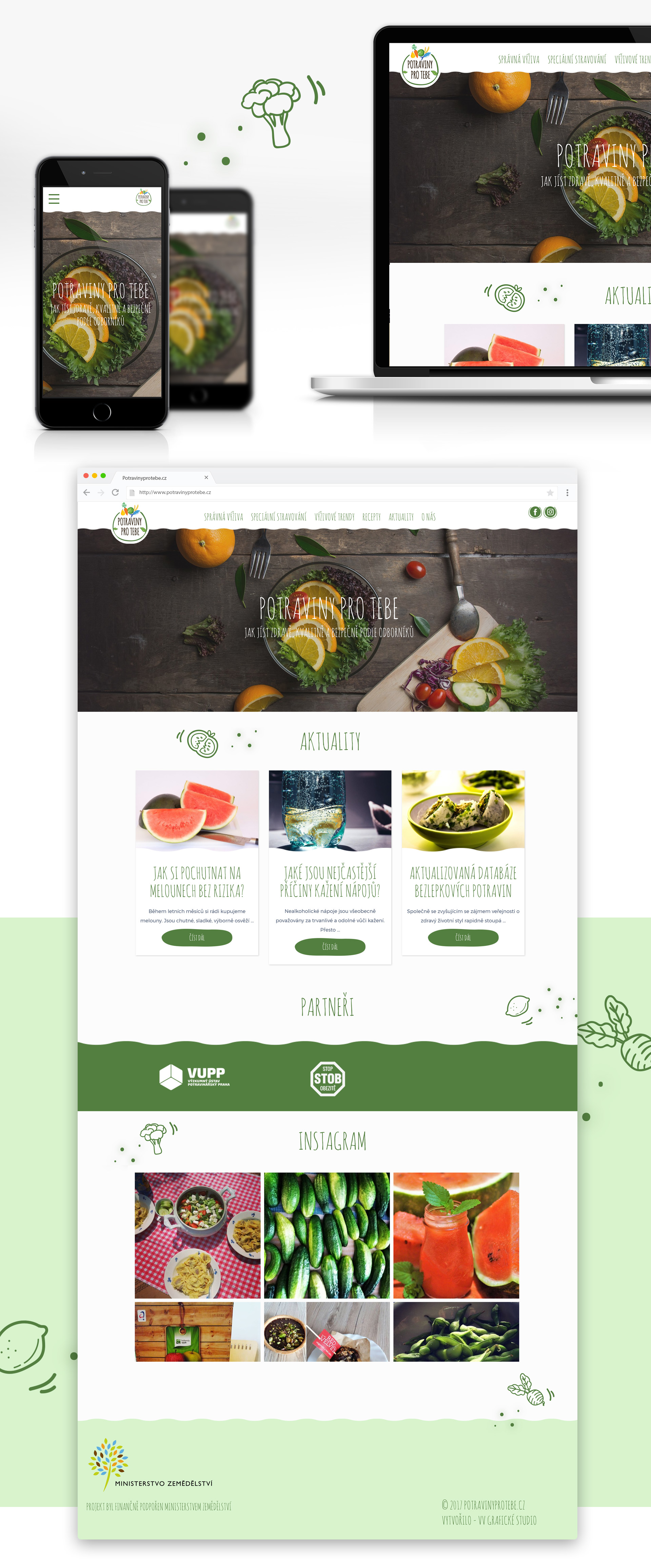 Blog o zdravé výživě - Potravinyprotebe.cz | VV grafické studio