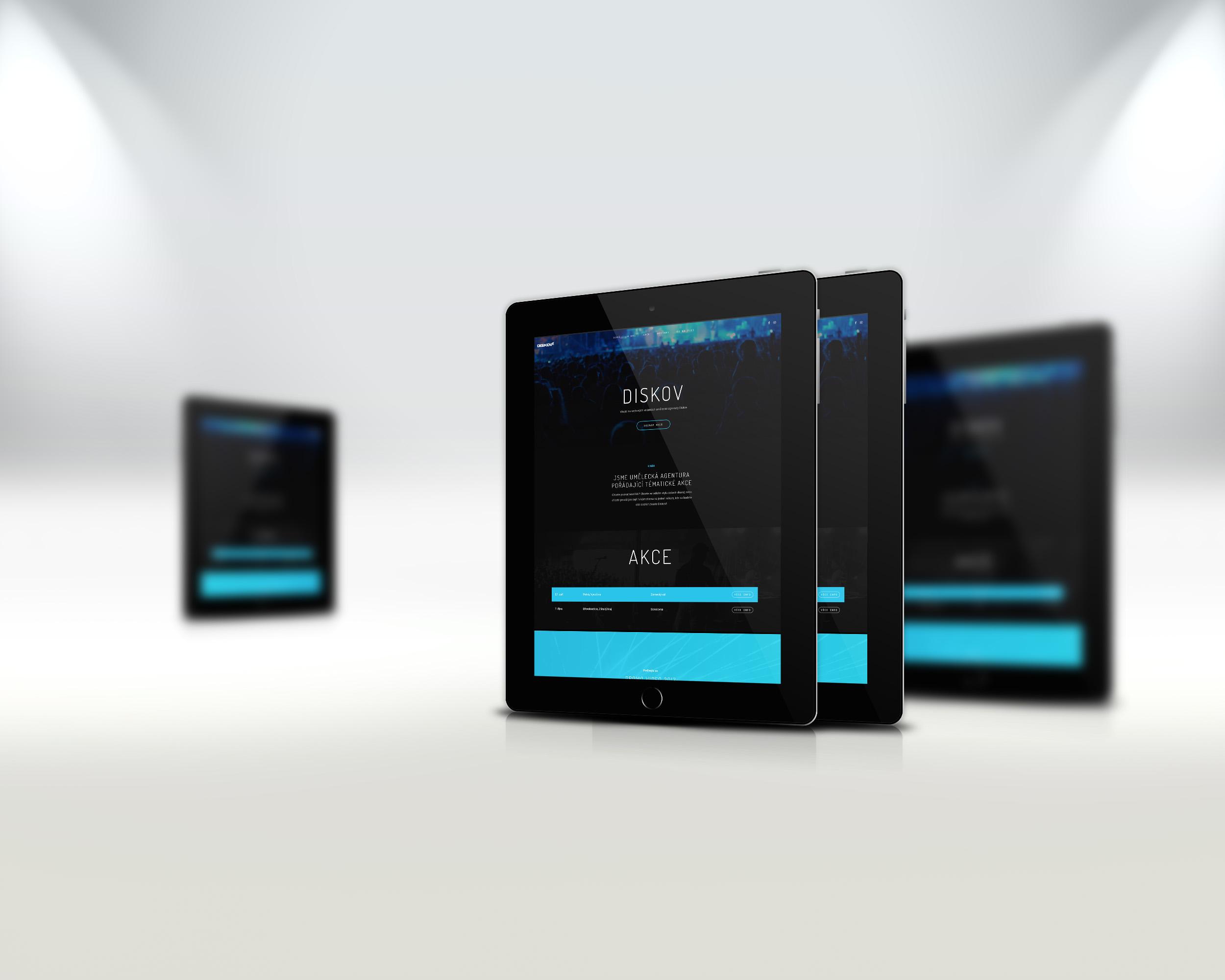 Redesign webových stránek - Diskov.cz | VV grafické studio / tablety