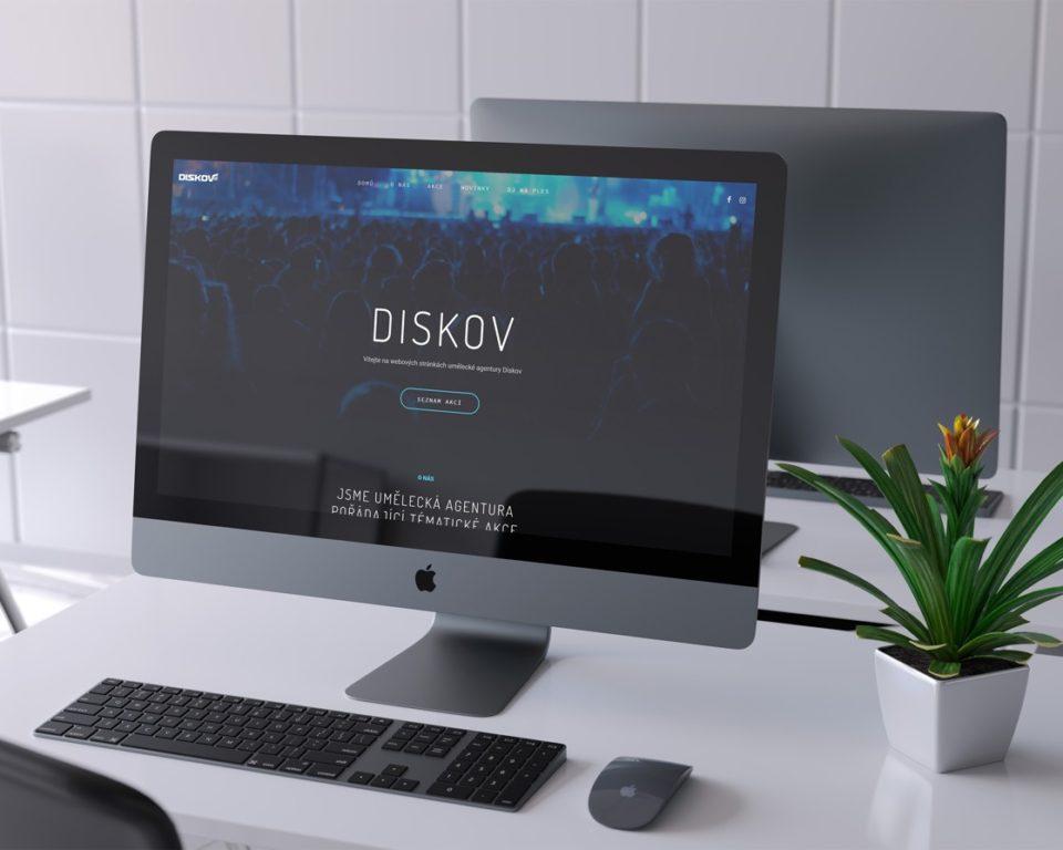 Redesign webových stránek – Diskov.cz