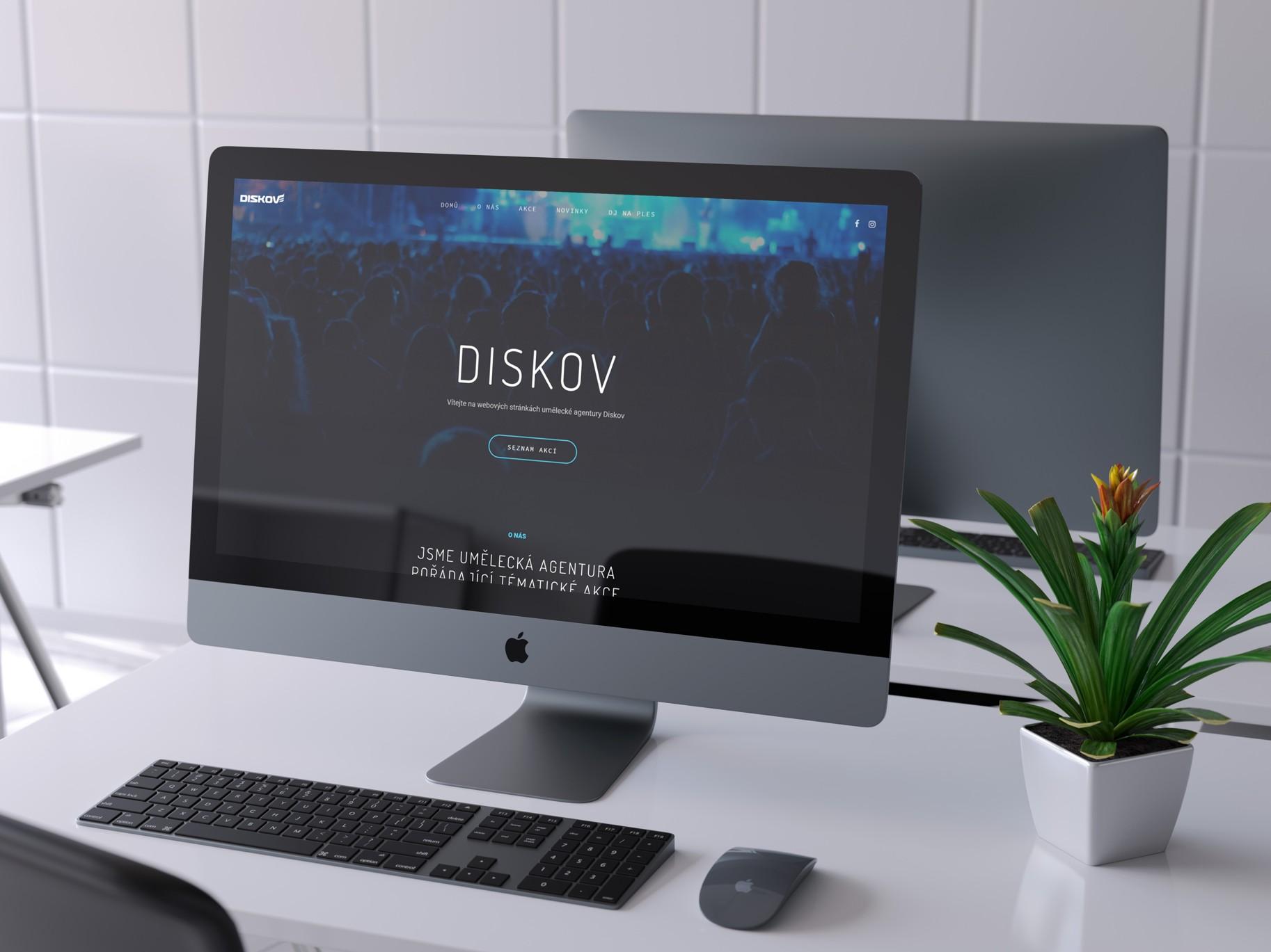 Redesign webových stránek - Diskov.cz | VV grafické studio / velký