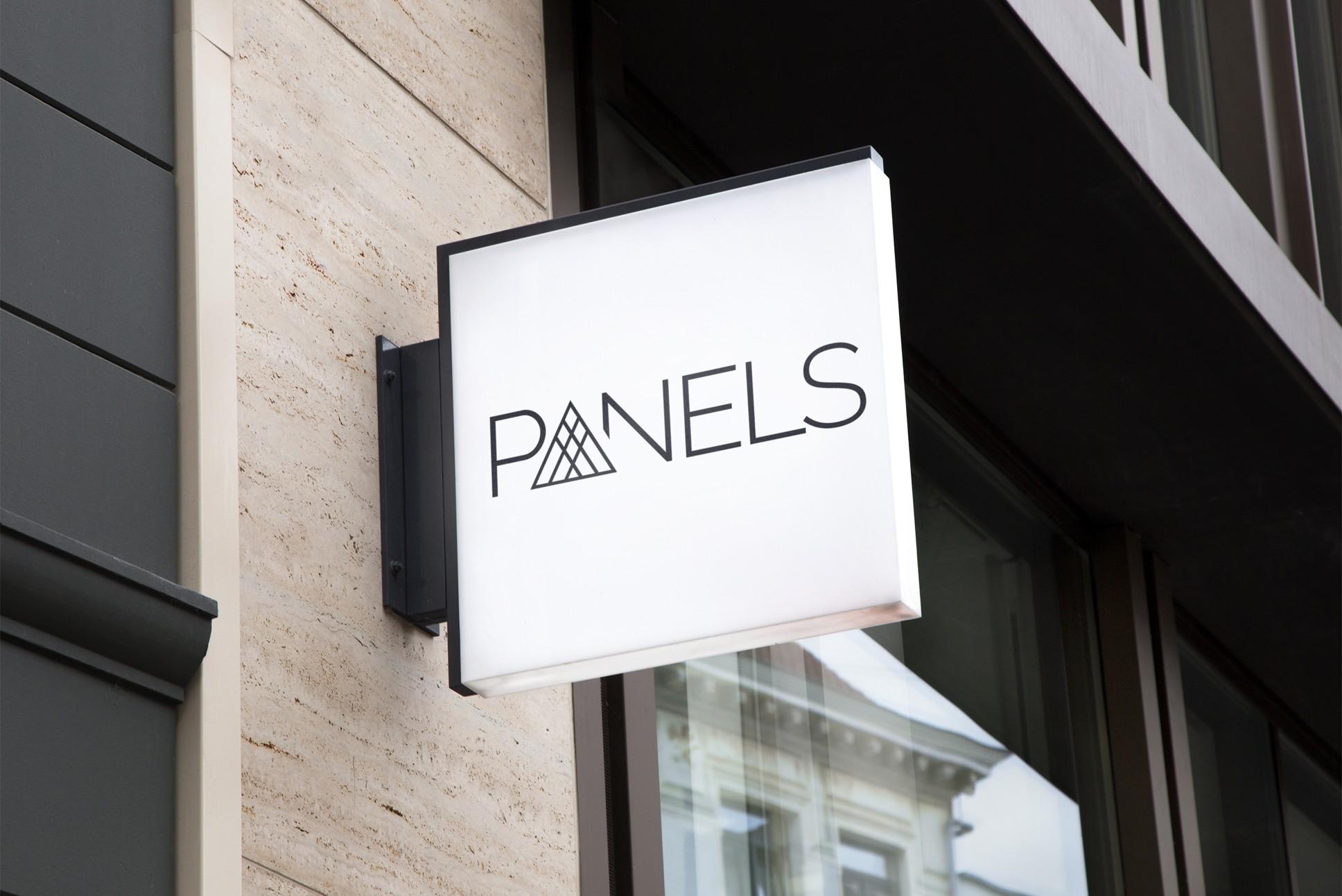 Vytvoření logotypu - Panels.cz | VV grafické studio