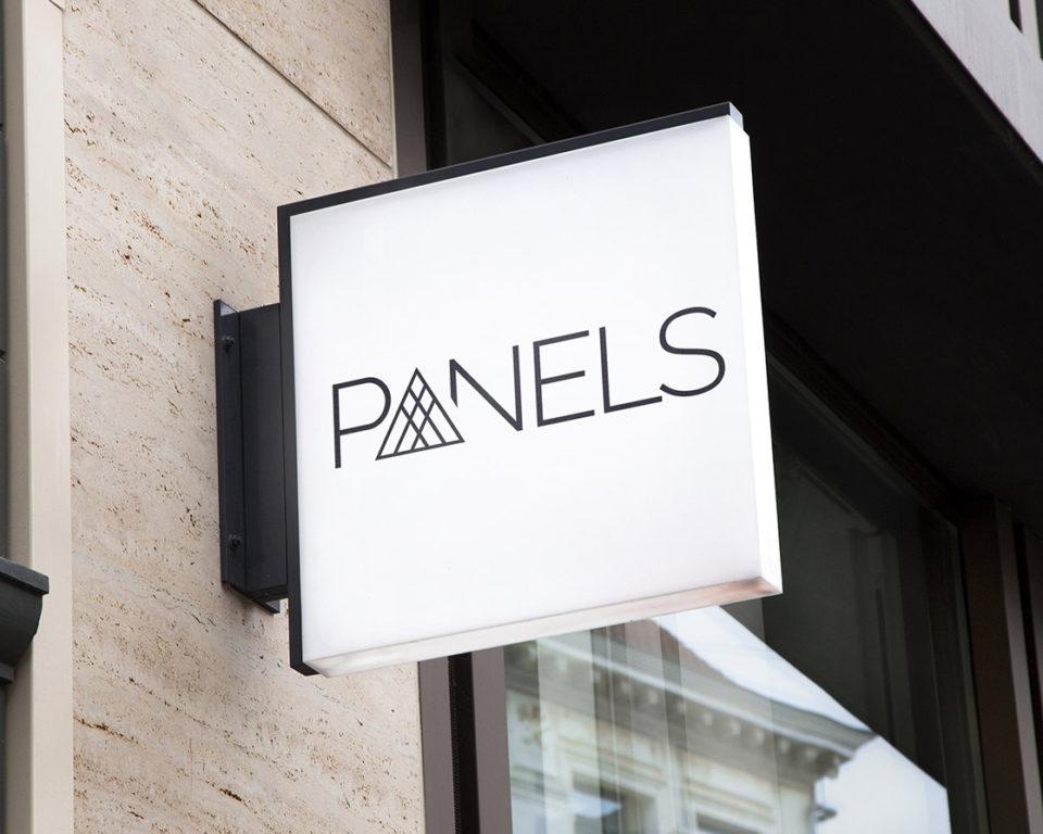 Vytvoření logotypu – Panels.cz