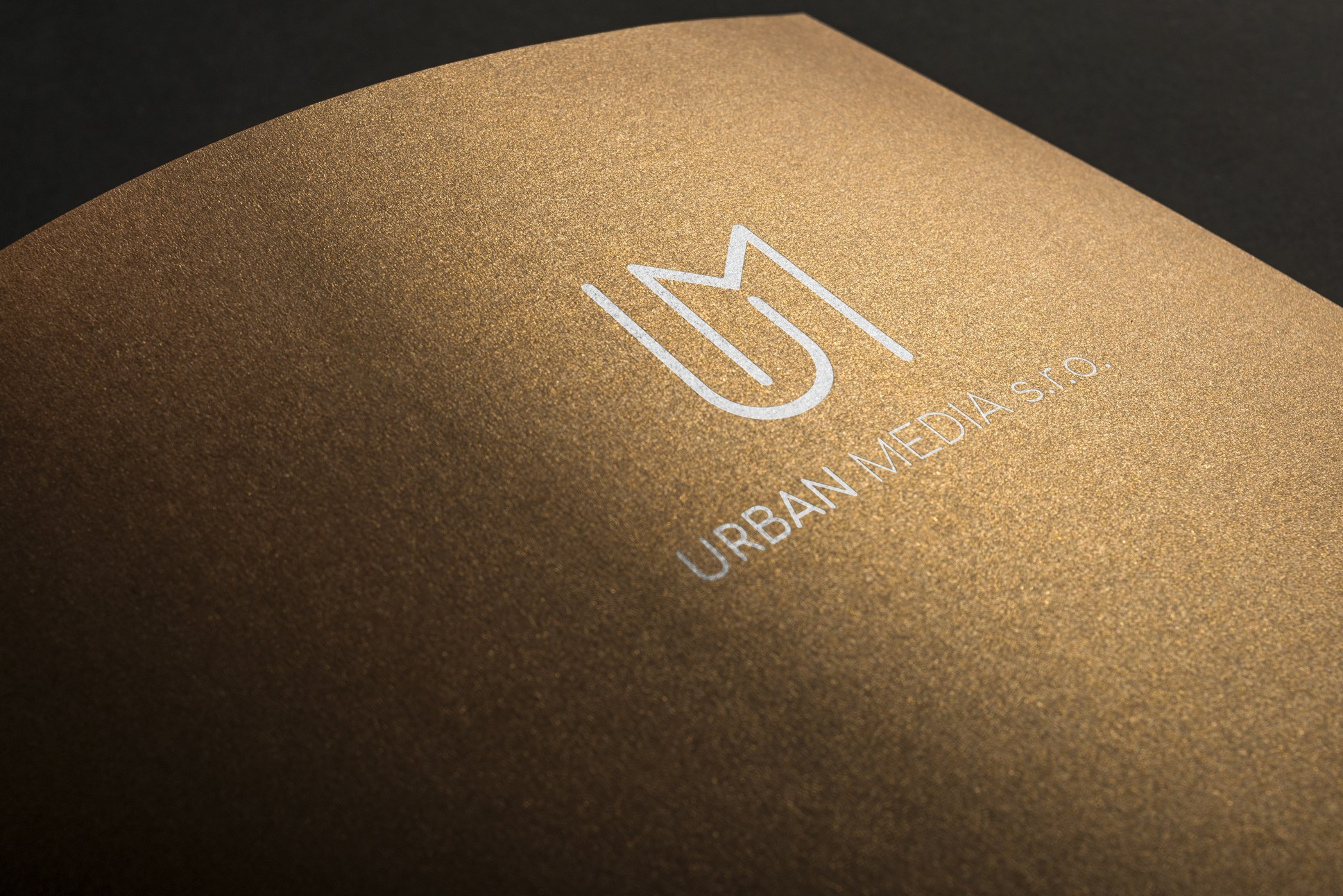 Nové logo - Urban media | VV grafické studio 6