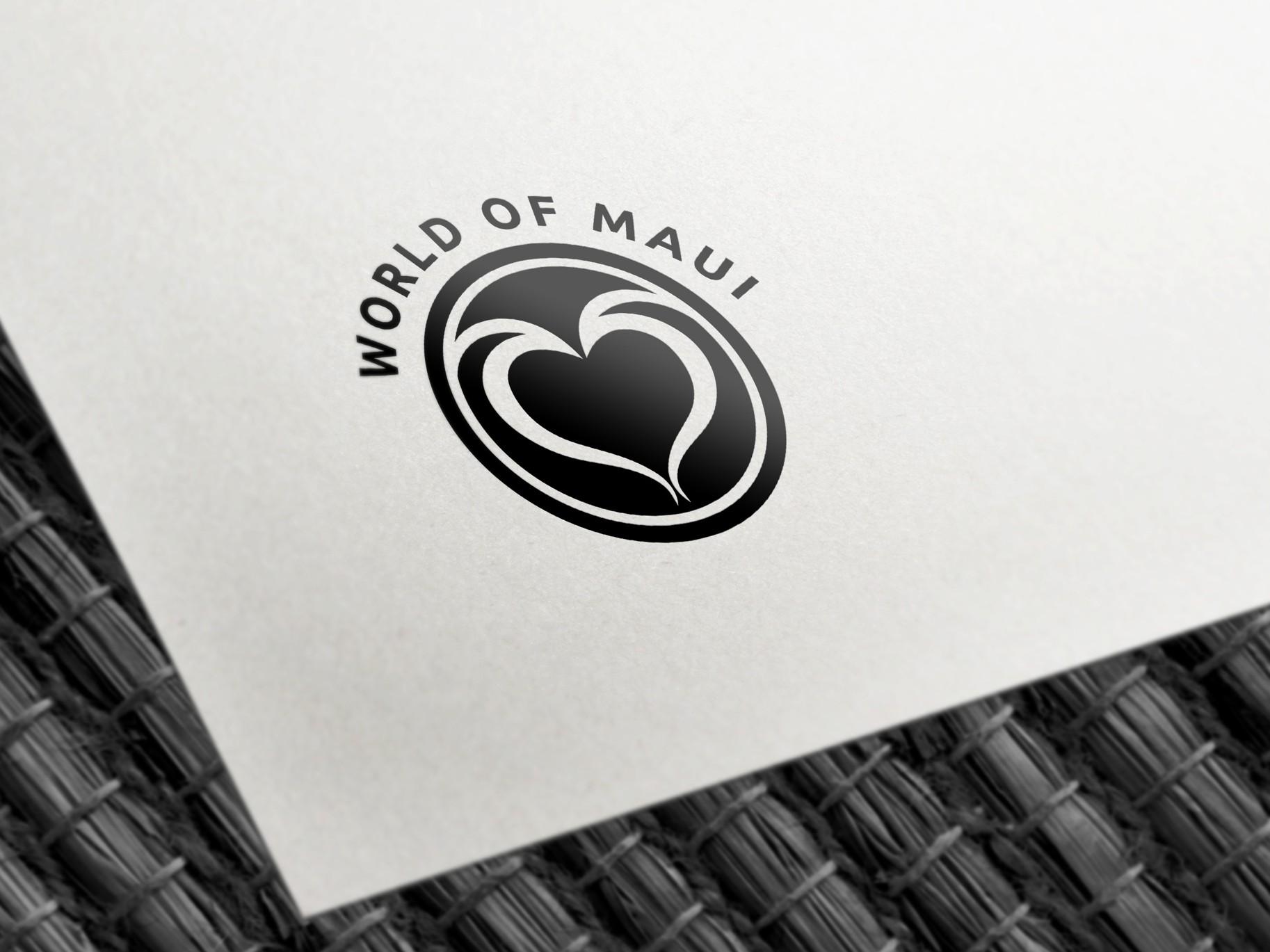 Návrh loga - World of Maui | VV grafické studio