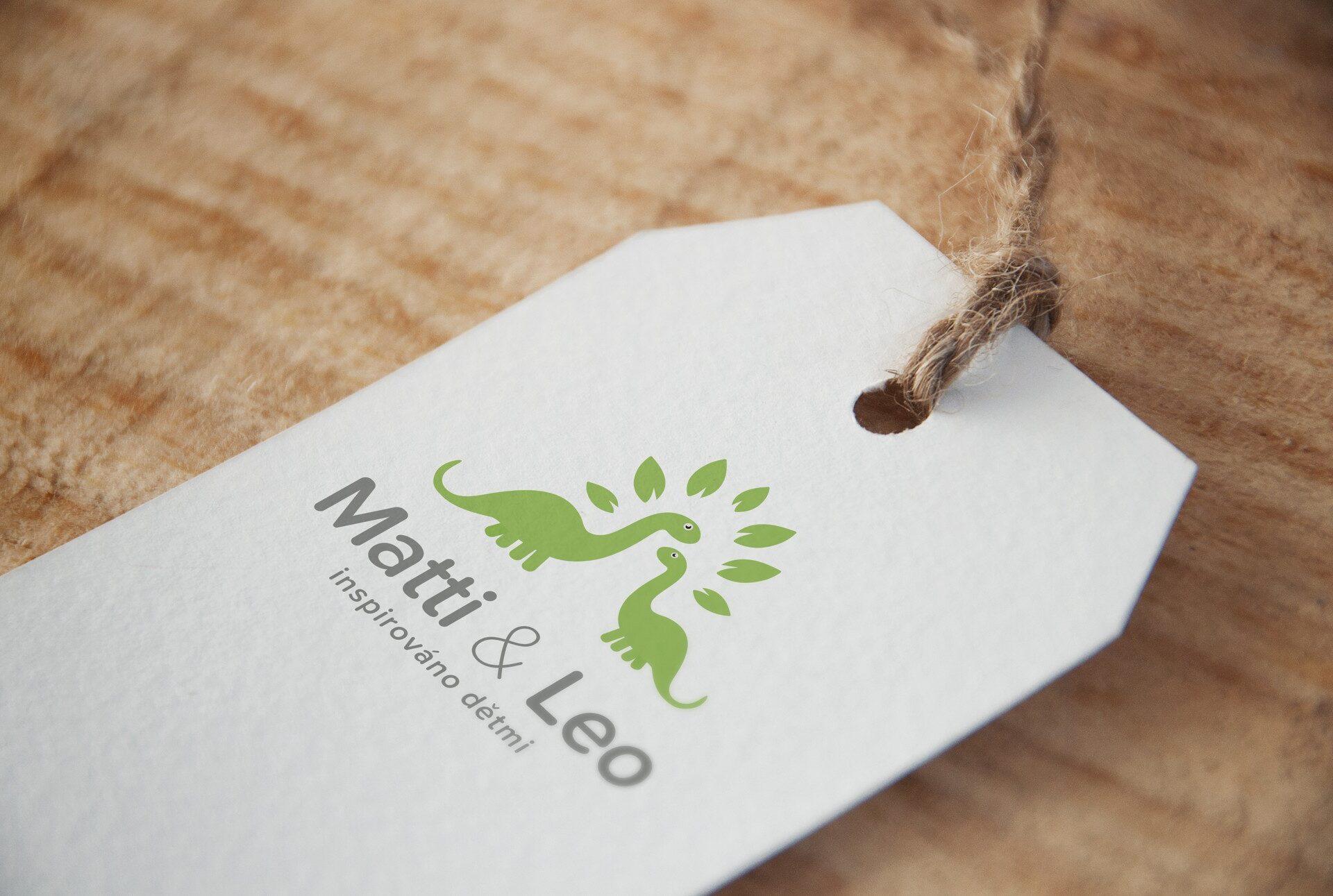 Logo - Matti & Leo | VV grafické studio