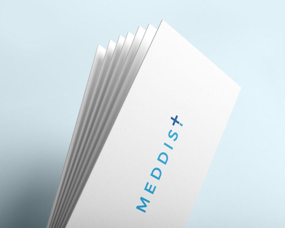 Logo a vizuální styl – Meddist
